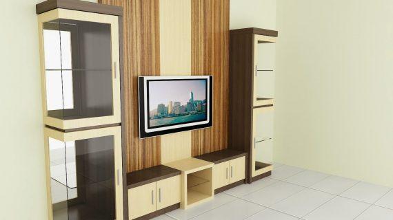 Ide Desain Backdrop TV yang Elegan, Kontemporer, dan Kreatif