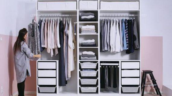 Trik Terbaik dalam Mengatur Manajemen Wardrobe Anda