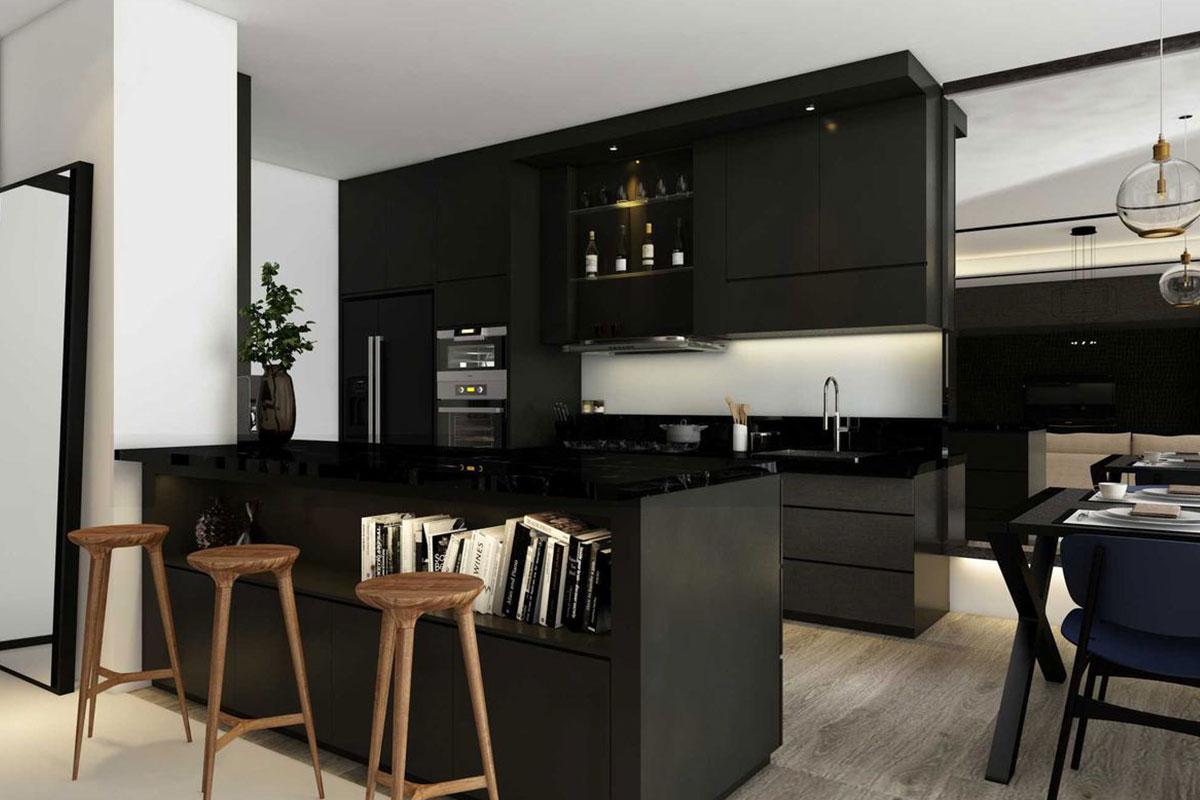 10 Desain Kitchen Set dengan Gaya Minimalis dan Cantik ...