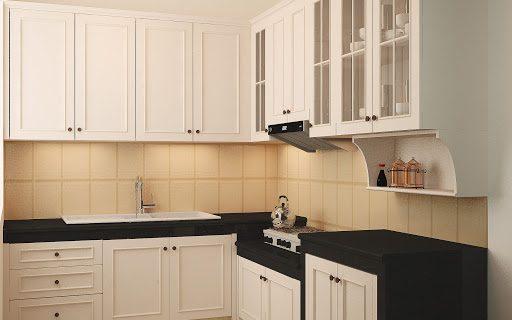 Kitchen Set Gaya Klasik yang Tak Ketinggalan Zaman