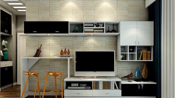 Desain Backdrop TV Minimalis yang Sangat Luar Biasa
